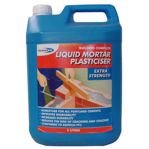 Bond It Liquid Mortar Plasticiser - 5lt