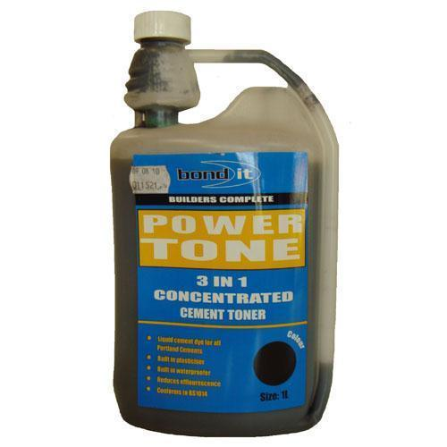 Bond It Powertone Cement Dye Liquid Black - 1lt