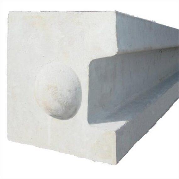 Concrete End Post - 10'