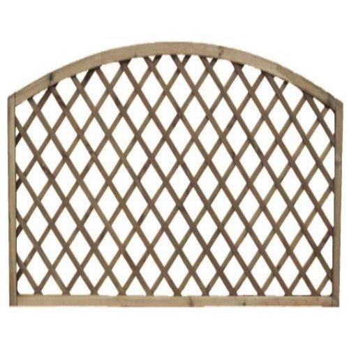 Lincoln Arch Fence Panel - 6'x6'