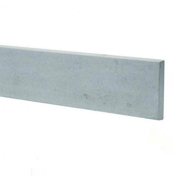"Plain Concrete Gravel Board - 6'x 6"""