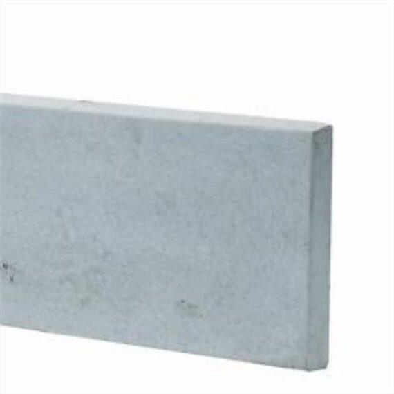 Plain Concrete Gravel Board - 6'x1'