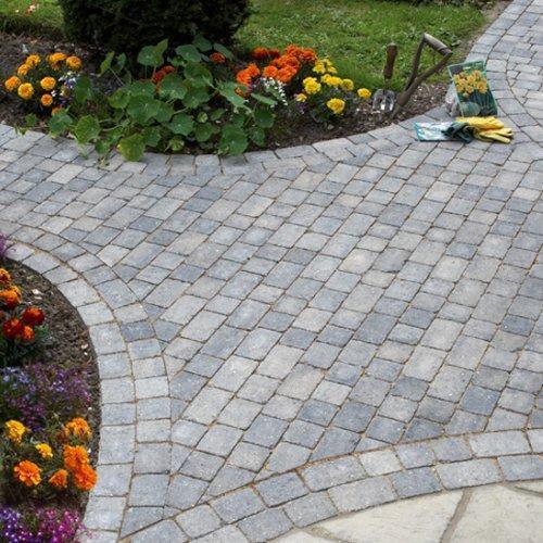 Plaspave Como Cobblestones - Granite