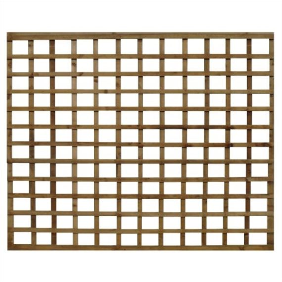 Square Trellis Fence Panel - 6'x6'