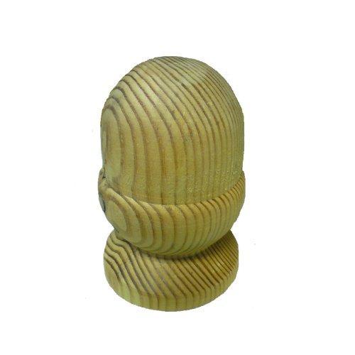 Timber Acorn Finial - 3''