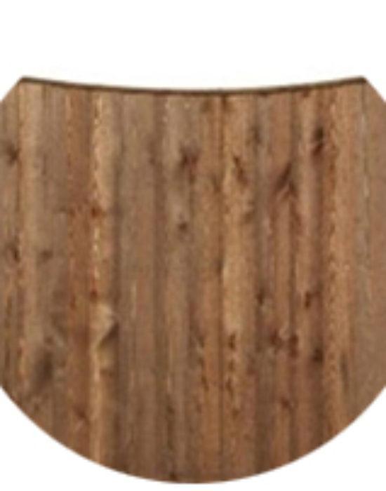 Feather Edge Concave Panels